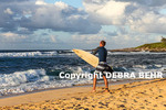 Surfer at Hookipa Beach