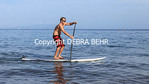 Stand up paddler in Wailea, Maui