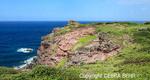 Clifftop reached via the Ohai Trail on Maui