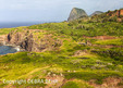 Rugged landscape surrounding the Honoapiilani Highway (Highway 30) on Maui