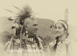 Teenage Native American with her father