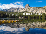 Reflection at Lake George in the Mammoth Lakes Basin