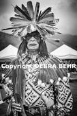 Native American at the Chumash Day Powwow and Intertribal Gathering