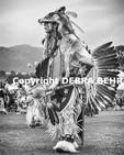 Native American at the Chumash Day Powwow and Intertribal Gathering