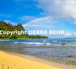 Rainbow at Mt. Makana, called Bali Hai