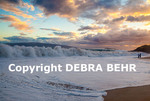 Dramatic waves at Big Beach at Makena State Park at sunset