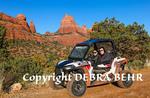 Tourists explore Sedona