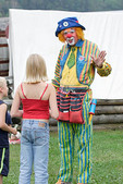 Clown at Tunbridge World's Fair  