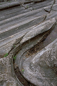 Glacial grooves carved by the Wisconsin Glacier