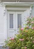 Old Farmhouse Door with roses
