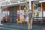 Halloween figures at General Store