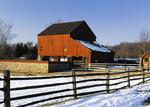 Daniel Boone Homestead Barn