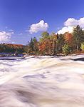 Jamestown Falls on the Raquette River