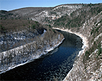 Upper Delaware Scenic and Recreational River from Hawk's Nest