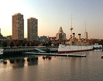 Sunset, Penns's Landing, Philadelphia