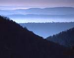 Pennsylvania's Ridge and Valley Province from Tussey Mountain