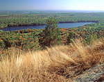 Fairview Lake in New Jersey as viewed from the Appalachian Trail