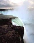 The Horseshoe or Canadian Falls at Niagara Falls