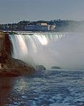 The Horseshoe or Canadian Falls at Niagara Falls