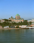 Quebec City and the St. Lawrence River from Levis