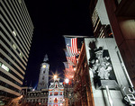 City Hall at Penn Square in Philadadelphia at night