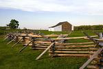 Split Rail Fence and German Bank Barn