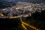 Johnstown Pennsylvania at Night from Grandview