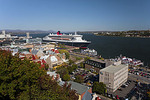 The Queen Mary 2 in Quebec City