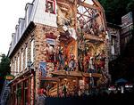 Mural along rue de Petit-Champlain