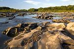 River potholes at Conewago Falls