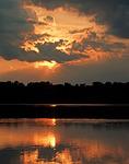Summer Sunset on Promised Land Lake