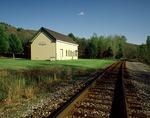 The Restored Cochecton and Lake Huntington Train Station