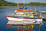 Moored Boats at Parc Du Bic