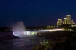 The Canadian or Horseshoe Falls at Niagara Falls