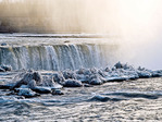 Canadian or Horseshoe Falls at Niagara Falls