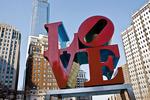 LOVE Statue At JFK Plaza