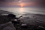 Sunset at Erie Bluffs