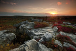 Sunset at Bear Rocks
