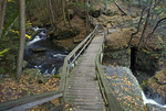 Bridge over Deer Leap Falls