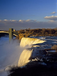 The American Falls at Niagara Falls