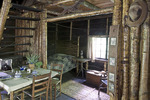 "Interior of John Burroughs ""Slabsides"""