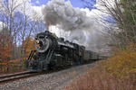 Steamtown Excursion Train on the Moscow, PA Run