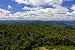 View from Hunter Mtn; NY Look Towards West Kill Mtn.