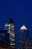 Philadelphia Skyscrapers at Night