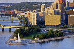 Point State Park and Pittsburgh