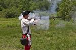 Reenactor at Fort Necessity National Battlefield
