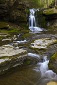 Lower Slateford Creek Waterfalls