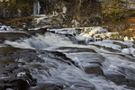 Shohola Falls in Winter