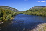 Delaware River and the Delaware Water Gap