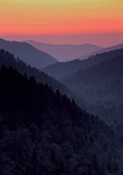Sunset from Morton Overlook